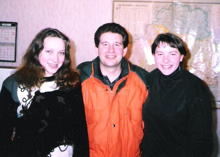 Orange coat 1999 (first visit to Belarus)