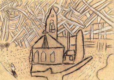 church-drawing-779178